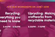 Recycling & Upcycling Workshop at S17 by I Have Learned Academy
