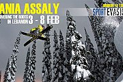 Dania Assaly - World Icon Freestyle Skier in Lebanon
