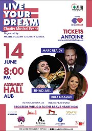 Live Your Dream Charity Musical Event