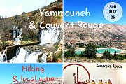 Hiking in Yammouneh & Couvent Rouge Wine Tasting with Green Steps