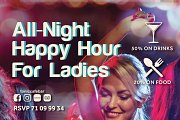 All-Night Happy Hour for Ladies