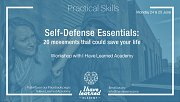 Self-Defense Essentials: 20 movements that could save your life - Workshop at I Have Learned Academy