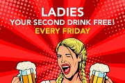 Ladies Night at The Redstreet Boom