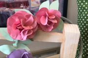 Paper Flower Wreath at Alwan Salma