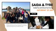 Saida & Tyre – Guided Tour with Street Food Tasting with Living Lebanon