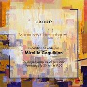 Murmures Chromatiques | Exhibition by Mireille Goguikian