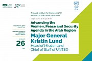 Advancing the Women, Peace & Security Agenda in the Arab Region