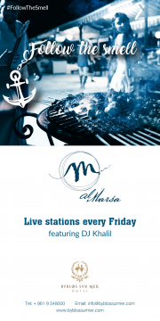 Follow The Smell.. Live Stations every Friday