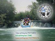 First Rafting Trip in Assi River with Footprints Club