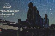 Stargazing Night Under The Sky - Summer 2019