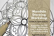 Mandala Drawing Workshop at Skillz Beirut
