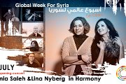 Tania Saleh & Lina Nyberg in Harmony | Global Week for Syria 2019
