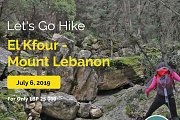 Let's Go Hike In El Kfour - Mount Lebanon with Let's Go