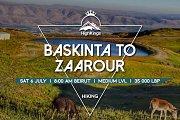 Baskinta to Zaarour Hike | HighKings