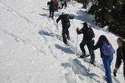 SNOWSHOEING VIAFERRATTA (Hard) with Skyline Team