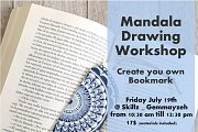 Morning Mandala Drawing Class: Create your own Bookmark