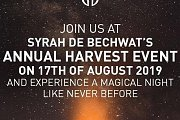 Syrah De Bechwat's Harvest Event