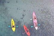 Kayaking, Swimming & Escaping
