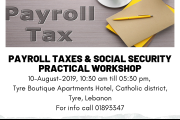 Payroll Taxes & Social Security: Practical Workshop (Tyre)