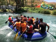 Rafting at ASSI RIVER with DALE CORAZON