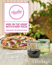 Wine on the House with Every Pizza