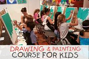 Drawing and Painting course for Kids - Every Saturday