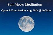 Full Moon Meditation Session