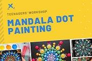Mandala Dot Painting for Teenagers