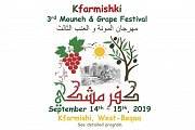 Kfarmishki 3rd Mouneh & Grape Festival 2019