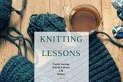 Knitting Lessons for Beginners