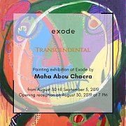 Transcendental | Exhibition by Maha Abou Chacra
