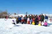 Concours de bonhomme de neige 2013 avec Neos Kids