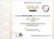 Kelna La Baad Humanitarian Association Gala Dinner