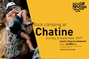 "Rock Climbing at ""Chatine"""