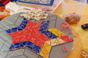 Mosaics at Alwan Salma