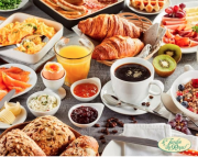 Breakfast Buffet at Le Jardin Du Royal