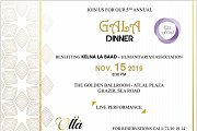 Kelna La Baad 5th Annual GALA DINNER