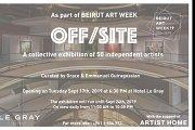 Off / Site Beirut Art Fair ~ Beirut Art Week