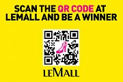 Scan the QR Code at LeMall