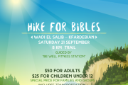 Hike for Bibles