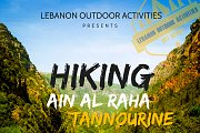 HIKING from Ain El Raha to Tannourine Al Fawqa with LEBANON OUTDOOR ACTIVITIES