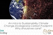 An Intro to Sustainability, Climate Change, Ecological & Carbon Footprint: Why should we care