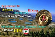 Apples Picking and Hiking