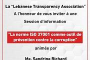 Session d'information : La Norme ISO 37001