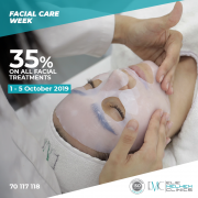 Facial Care Week at EMC