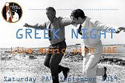 Greek Night at Guitar Studio & Co