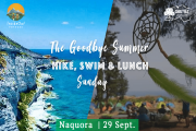 The Goodbye Summer Hike, Lunch, & Beach Sunday!
