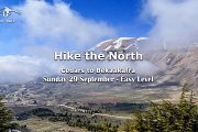 Hike the North: Cedars Forest to Bkaakafra with Yolo