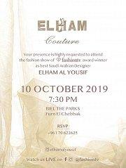 Elham Al Yousif Fashion Show