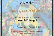 Reflets et Fenêtres | Exhibition by Joseph Faloughi at Exode